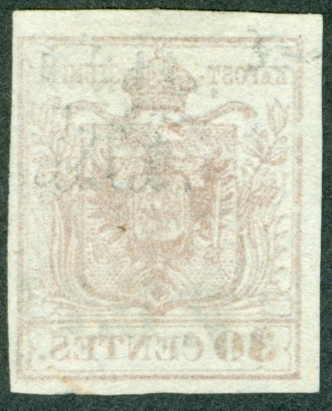 Briefmarken - Lombardei - Venetien 1850 - 1858 - Seite 4 1850_311