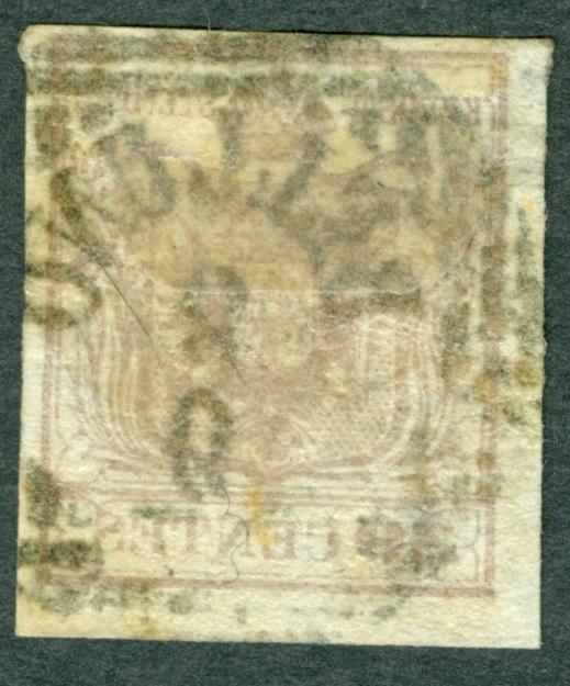 Briefmarken - Lombardei - Venetien 1850 - 1858 - Seite 4 1850_312