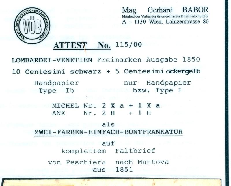 Die erste Österreichische Ausgabe 1850 - Seite 8 1851_511
