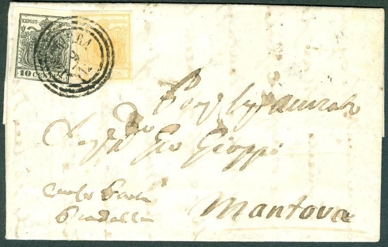 Die erste Österreichische Ausgabe 1850 - Seite 8 1851_513