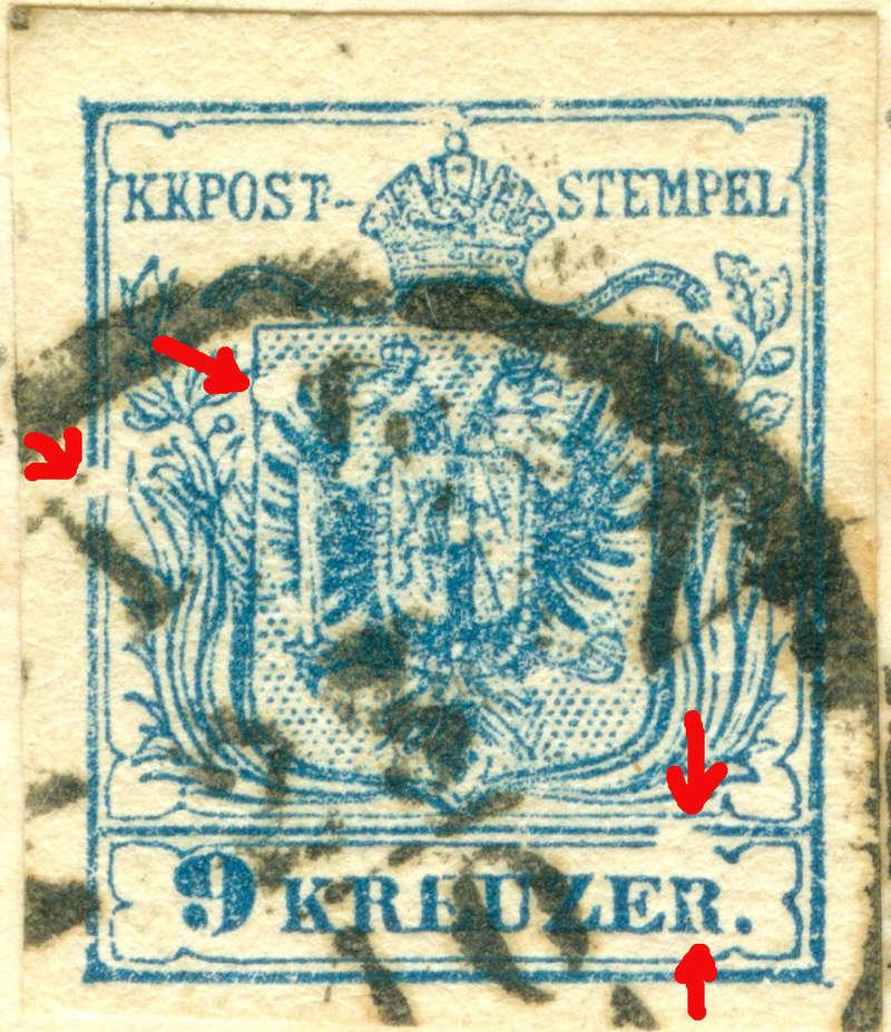 Die erste Österreichische Ausgabe 1850 - Seite 8 1853_910