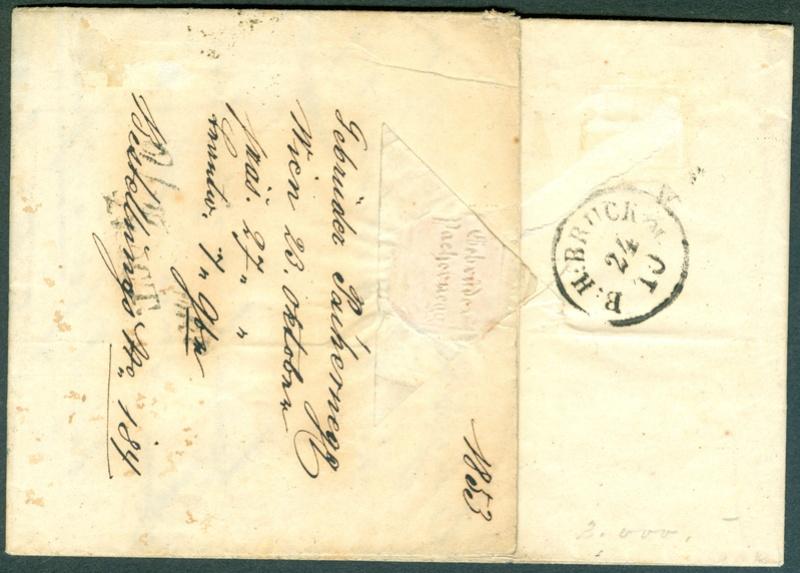 Die erste Österreichische Ausgabe 1850 - Seite 8 1853_912
