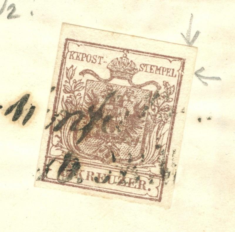Die erste Österreichische Ausgabe 1850 - Seite 8 1855_m11
