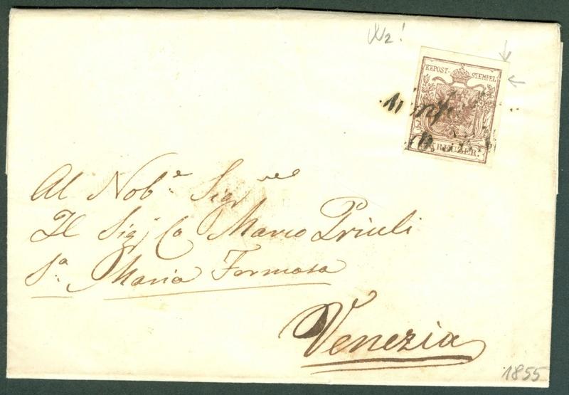 Die erste Österreichische Ausgabe 1850 - Seite 8 1855_m12