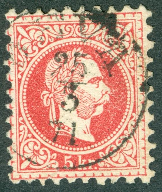 Freimarken-Ausgabe 1867 : Kopfbildnis Kaiser Franz Joseph I - Seite 16 1867_d10