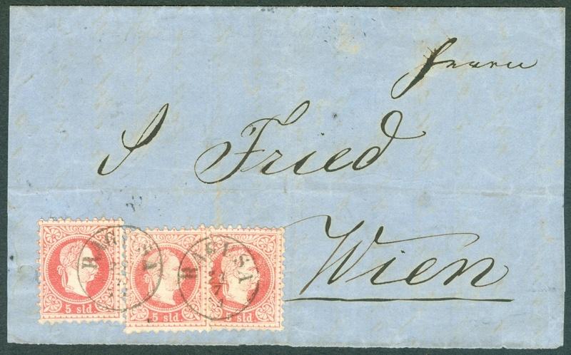 Freimarken-Ausgabe 1867 : Kopfbildnis Kaiser Franz Joseph I - Seite 16 1867_s11