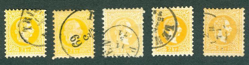 Freimarken-Ausgabe 1867 : Kopfbildnis Kaiser Franz Joseph I - Seite 15 1867er13