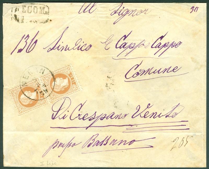 Freimarken-Ausgabe 1867 : Kopfbildnis Kaiser Franz Joseph I - Seite 14 1879_b12