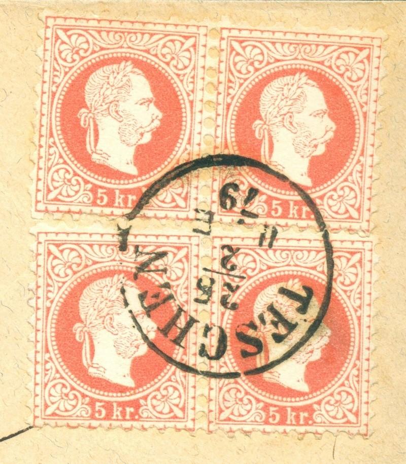 Freimarken-Ausgabe 1867 : Kopfbildnis Kaiser Franz Joseph I - Seite 14 1879_t10