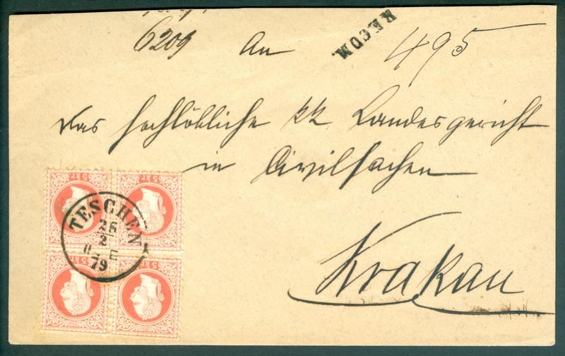 Freimarken-Ausgabe 1867 : Kopfbildnis Kaiser Franz Joseph I - Seite 14 1879_t12