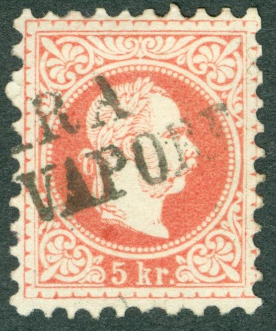 Freimarken-Ausgabe 1867 : Kopfbildnis Kaiser Franz Joseph I - Seite 16 Zara_c10