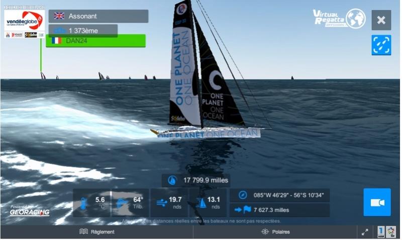 [Vendée Globe Virtuel 2016] La course sur VR - Page 30 2312_110