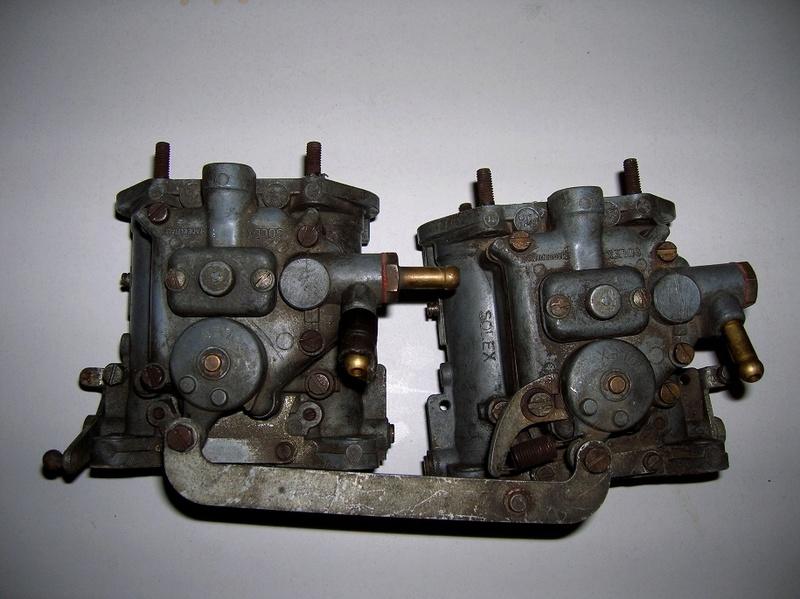 Vendo coppia carburatori Solex 35 da revisionare 200,00 Fulvia21