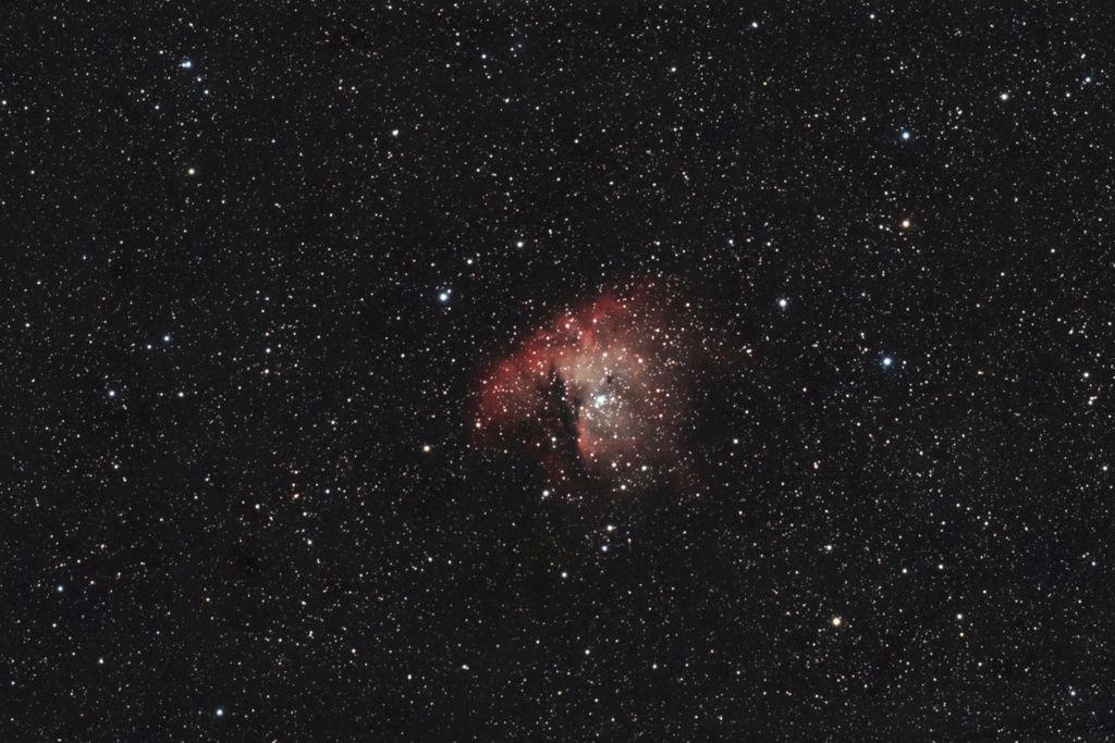 NGC 281 du début décembre Ngc28110