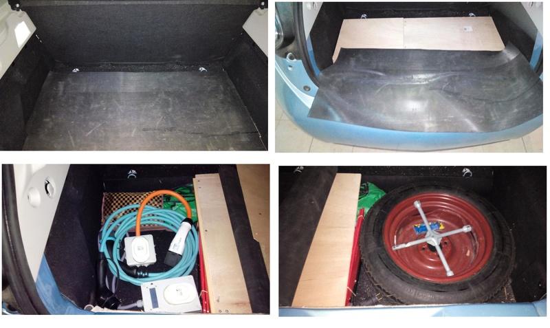 Rangement des câbles : Fabrication d'un double fond de coffre - Page 2 Coffre10