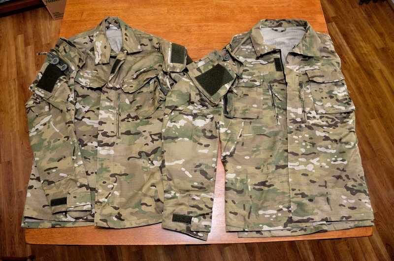 Polish Special Forces Multi-Cam combat uniform 0610