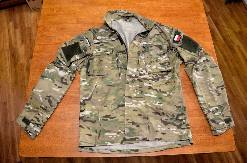 Polish Special Forces Multi-Cam combat uniform 0710