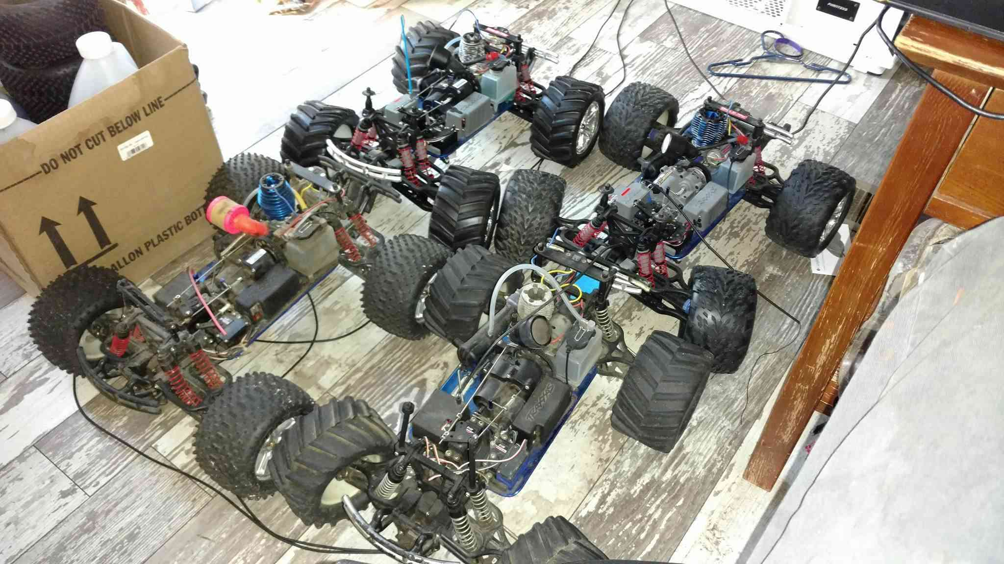 4 Traxxas Tmaxx for sale/trade 15101810