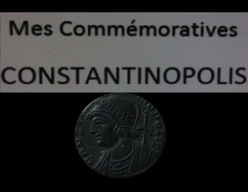 Collection  Moineau 25:   Constantin I / Commémoratives / Constantin II  Commem10