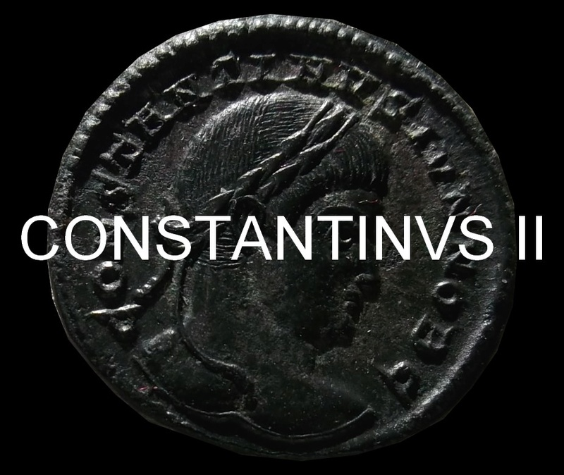 Collection  Moineau 25:   Constantin I / Commémoratives / Constantin II  Consta54