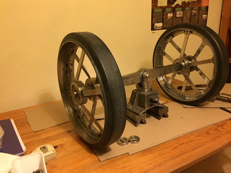 """Project 4"""" (1/3 Full Size) Burrell Agricultural Traction Engine Build. Img_0612"""