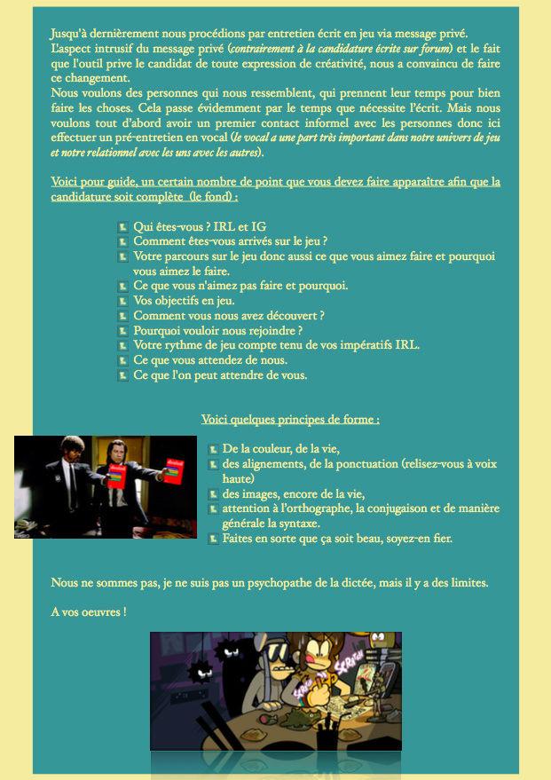 Les conseils pour une candidature écrite réussie. Captur19