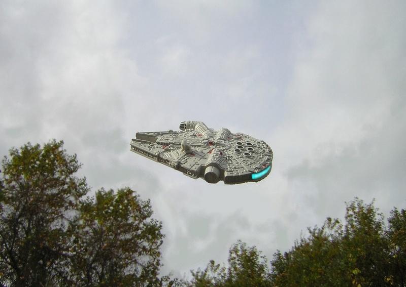 STAR WARS au dessus de chez moi. Dscn5020