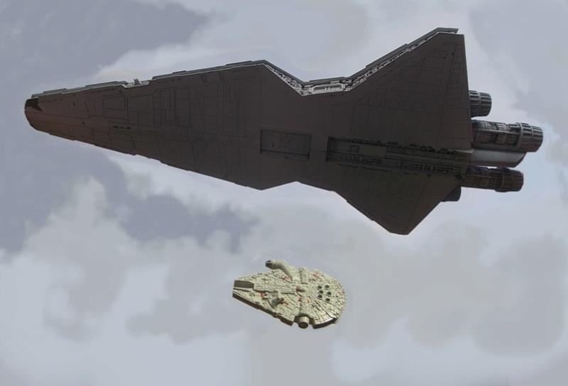 STAR WARS au dessus de chez moi. Dscn5119