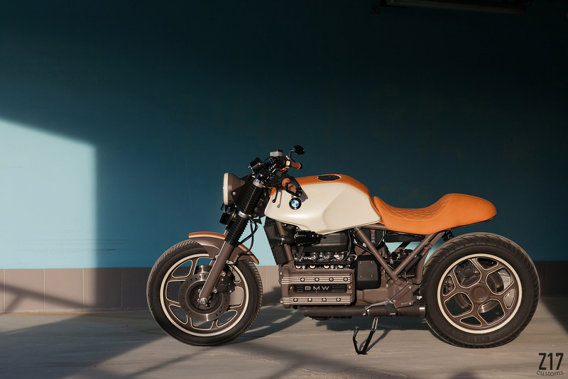 "The Rejuvenation of ""Alda"" Bmw-k110"