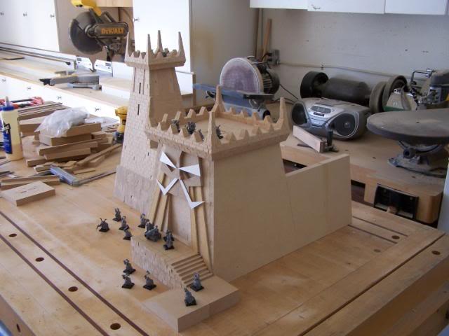 Quelques exemples de forteresse des Nians Infernaux 100_2410