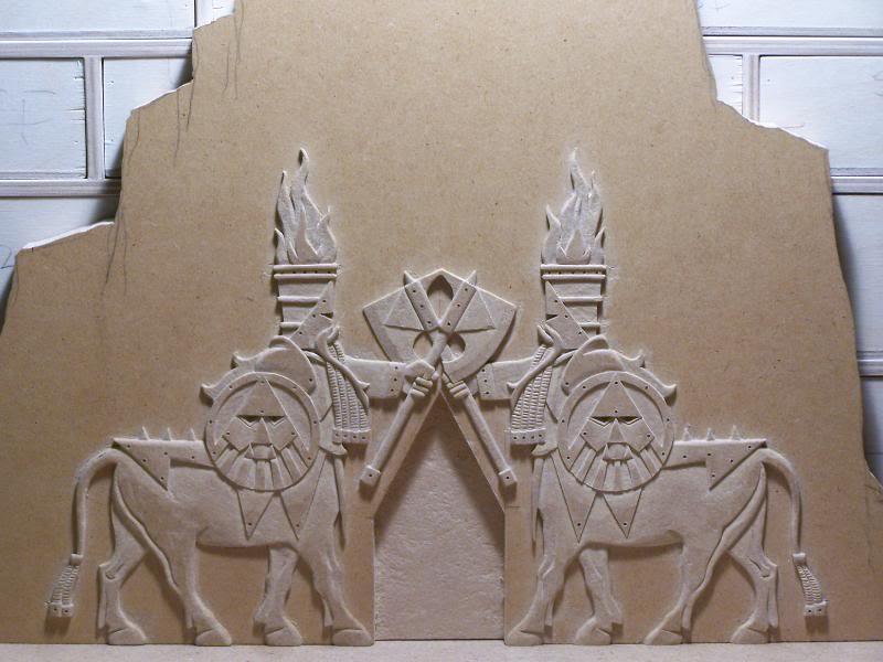 Quelques exemples de forteresse des Nians Infernaux 100_2810