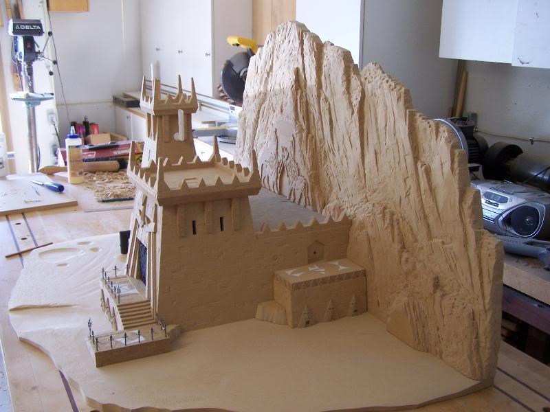 Quelques exemples de forteresse des Nians Infernaux 100_3011