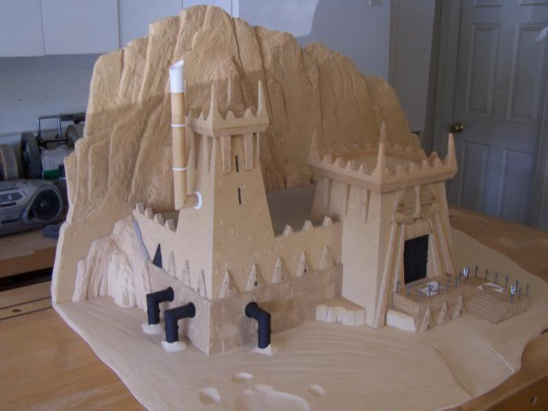 Quelques exemples de forteresse des Nians Infernaux 100_3012