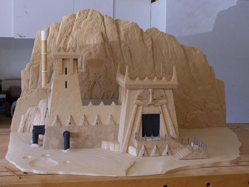 Quelques exemples de forteresse des Nians Infernaux 100_3013