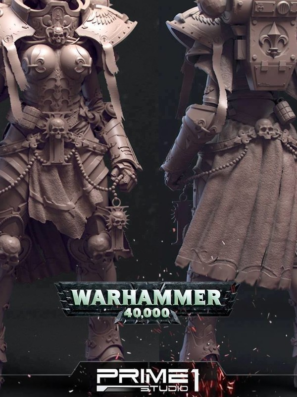 Warhammer 40,000 - Sisters of Battle Statue 53665310