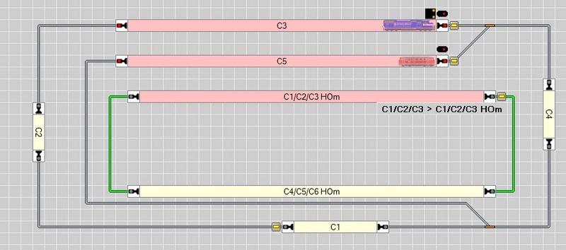 Sélection/Séquence de trajets Tco10