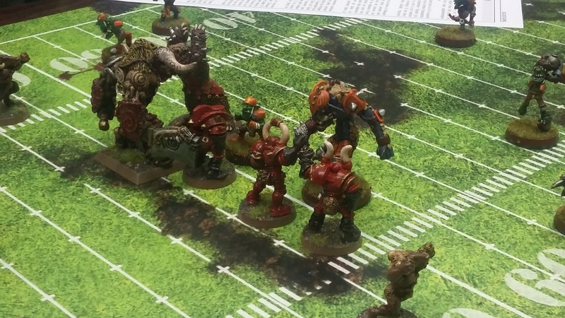 BLOOD BOWL : Coupe des Remparts 20161111