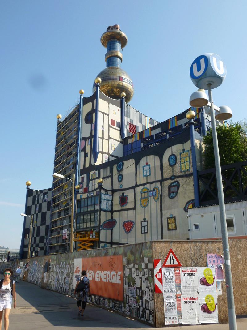 Friedrich Stowasser  dit Friedensreich Hundertwasser Vienne12