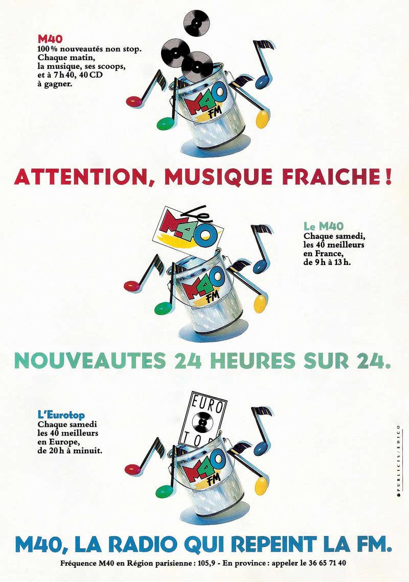 Publicités M40 Fm Public10