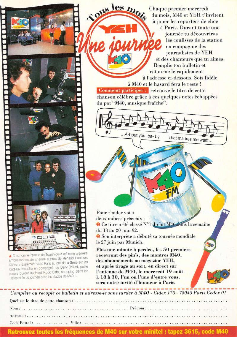 Les Jeux Concours Magazine Yeh et M40 Fm Tous_l11