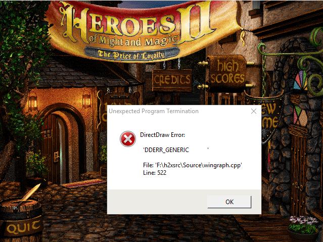 Install Error 98665410