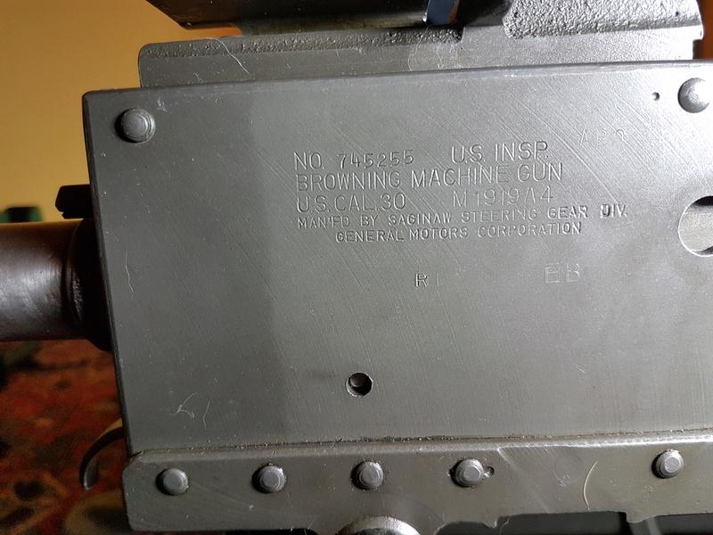 Browning M1919 General Motors Corporation 623510