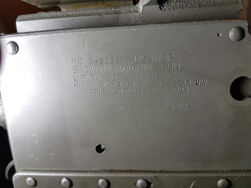 Browning M1919 General Motors Corporation 624010