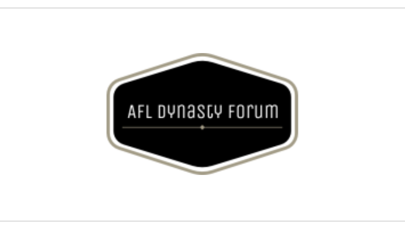 AFL Dynasty forum