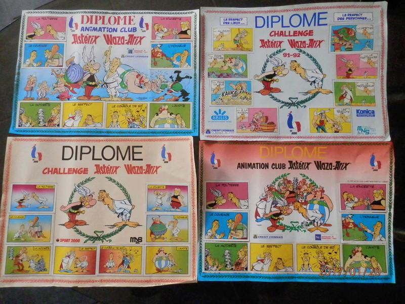 Diplômes et pin's judo P1200310