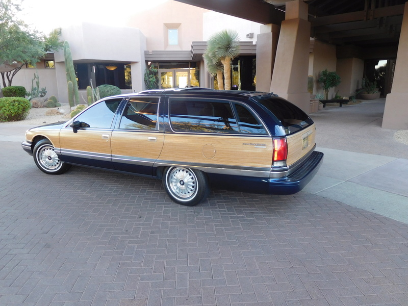 Seeking a low mileage excellent B body wagon Image15