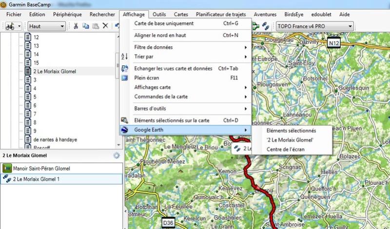 impossible de visualiser la trace basecamp dans google earth depuis dernière mise à jour Sans_t11