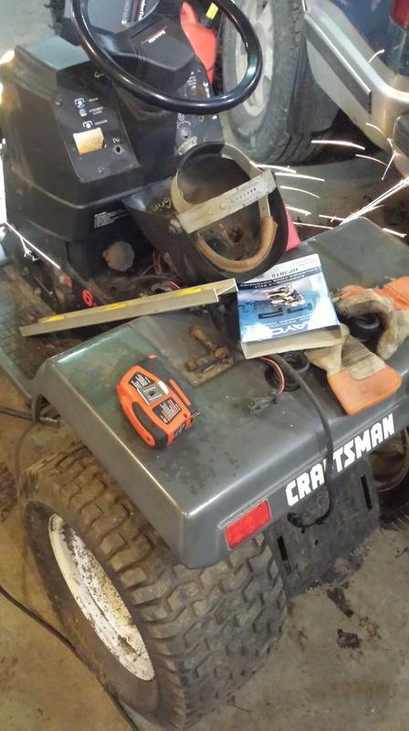 Craftsman mud mower  20170117