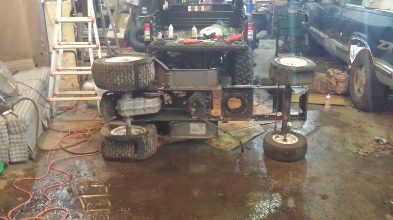 Craftsman mud mower  20170125