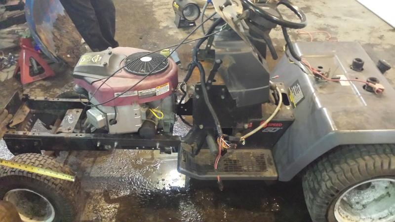 Craftsman mud mower  20170126